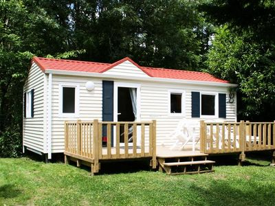 Photo for Camping Aloha Plage **** - Mobile Home 4 Rooms 6 People