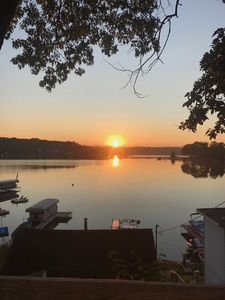 Photo for Lake James Waterfront Cabins. Private Dock. Best Views. Walk to restaurants&bars