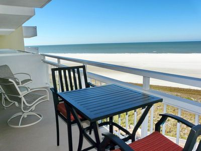 Photo for Sun-filled beachfront condo w/ heated pool & unforgettable ocean views