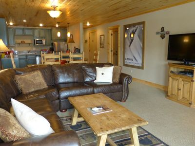 Photo for Extensively Remodeled Slopeside Condo w/ Mountain Views, Fireplace