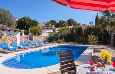 Photo for FLORES, villa for 10 people in the hills of Benissa