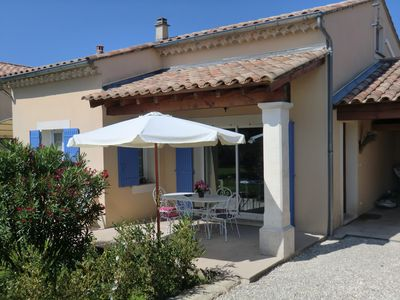 Photo for Charming cottage bordering the Drôme near Grignan, Vaison la Romain and Nyons
