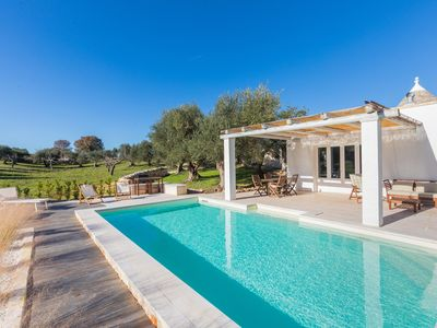 Photo for Trullo - Private chemical free Pool by Enviroswim - Wifi - concierge