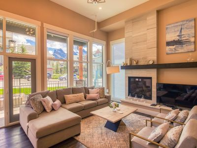 Photo for The Peak by Samsara | Luxury Townhome | Panorama Mountain View | 4BR+4.5BTH