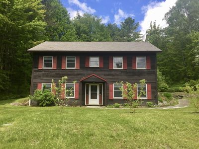Photo for Stowe Sticks - Family and Pet Friendly Cabin, Walk to Rec Path and Mountain Road