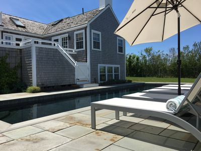 Beautiful vacation home with pool and private beach access