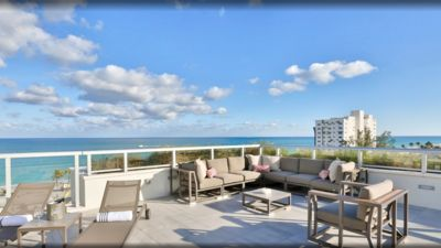 Photo for NEW Beachfront Condo-ROOFTOP infinity POOL