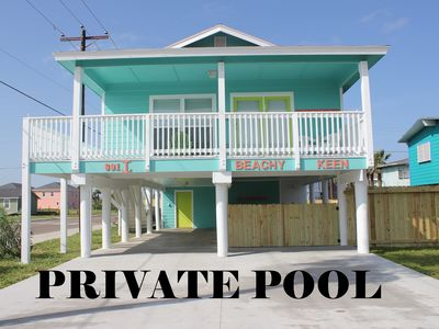 Photo for Private Pool - Premium Location - 5 Min Walk to Beach - 5 bed/3 bath - Sleeps 14