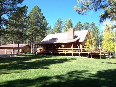 Photo for Deer Meadow Lodge ~ Nestled On 3 Acres In The Heart Of The Black Hills