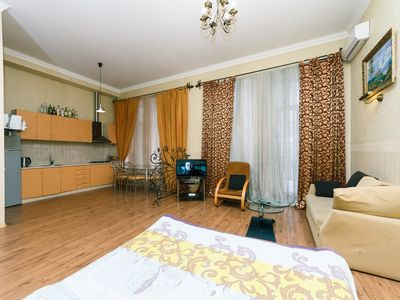Photo for Studio. 12.Baseina. Centre. Near Kreshchatik -  Apartment, Sleeps 3