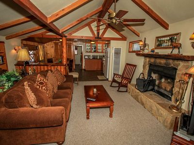 Photo for House in the center of Big Bear Lake with Parking, Internet, Balcony (983527)