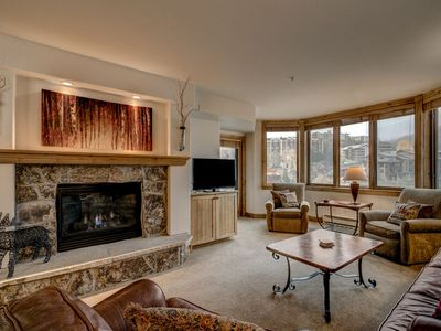 Photo for SPECTACULAR VIEWS FROM THE 5TH FLOOR, 3 BED, 3 BATH- SKI IN/SKI OUT