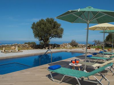 Photo for 4 Bed Villa with private pool and stunning Sea and Mountain Views