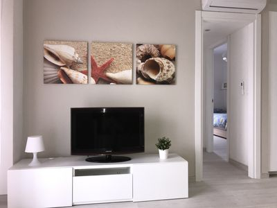 Photo for City Garden - Bright three-room apartment at 200m from the sea with terrace and parking space