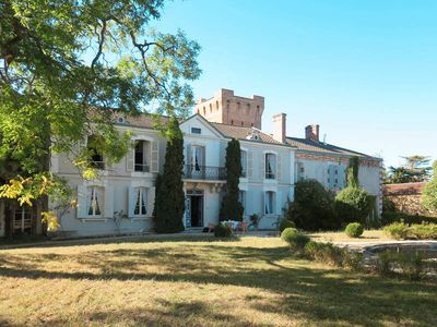 Photo for Apartment Château de Loubens  in Hontanx (Landes), Aquitaine - 10 persons, 5 bedrooms