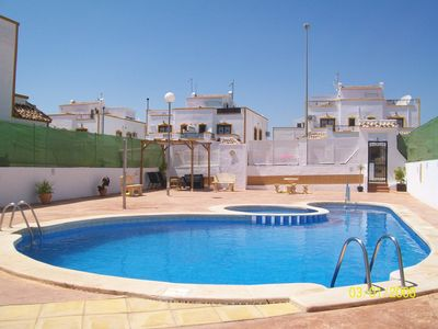 Photo for Lovely 3 Bedroomed House Next To Vistabella Golf Course (Non smoking). Sleeps 6.