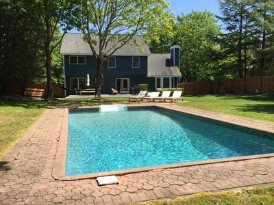 Photo for Quiet and Serene East Hampton Home within Easy Walking Distance to EH Village