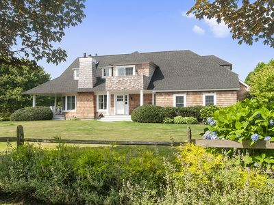 Photo for OCEAN & FIELDS AT YOUR DOORSTEP: BEAUTIFUL SAGAPONACK SUMMER HOME FOR RENT