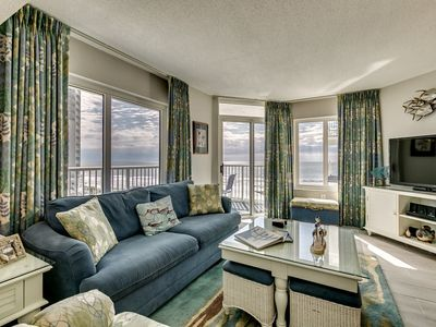 Photo for Sea Watch 516, A Gorgeous Oceanfront 2 Bedroom Luxury Condo!