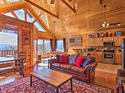 Photo for Pigeon Forge Cabin w/Hot Tub, Views & Resort Pool!