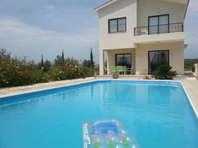 Photo for Beautiful Golf Villa With Private Pool And Sea Views, Car Included!