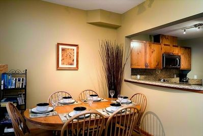 Dine in style & Relax while talking to your friends in the kitchen