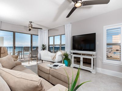 Photo for Lovely Unit w/ Great Amenities, Gulf View, Private WiFi, Large Balcony!