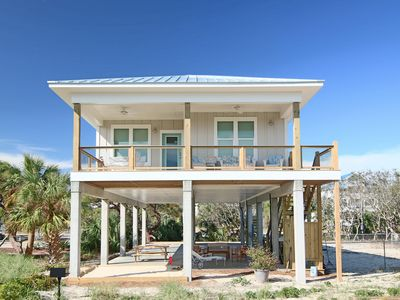 "Photo for New to VRBO! Brand new home, W Gulf Beaches 3/2 pet friendly, Free Beach Gear! ""Barefeet Retreat"""