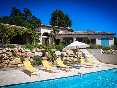 Photo for Character Villa With Magnificent Views And Heated Pool