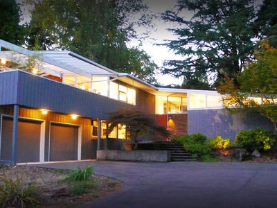 Photo for Private Mid Century Modern Retreat | Glass House