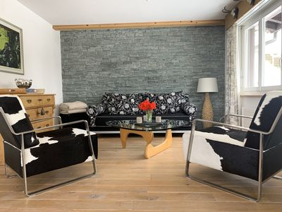 Photo for Nordic style appartment, view to the Eiger north face max. 4 people