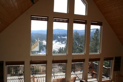 Amazing Views - this is from the loft area