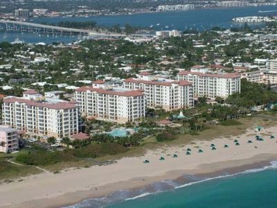 Photo for Palm Beach Shores Beachfront Luxury Resort - 2 Bedrooms - Multiple Heated Pools