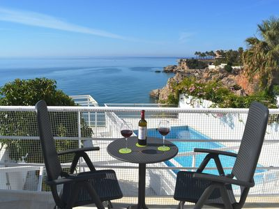 Photo for Prime location in Nerja… and private pool! No rental car needed at this villa.