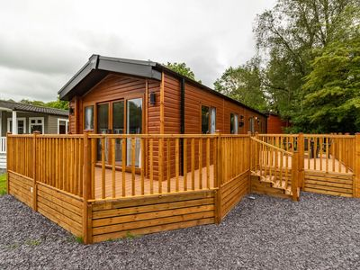 Photo for Brand new holiday lodge just a short walk from Lake Windermere in the heart of the Lake District