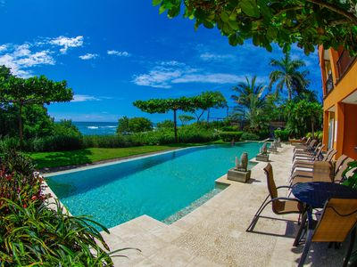 Photo for 3 BR Luxury Beachfront, Tamarindo, Langosta, Costa Rica, Horizontes Del Mar 101