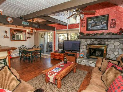 Photo for Apartment 1.2 km from the center of Big Bear Lake with Parking, Internet, Washing machine (983569)