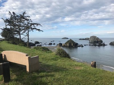 Photo for Oceanfront Home In Crescent City Near Redwoods