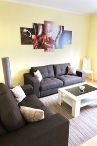 Photo for Modern apartment in a quiet location, close to the center