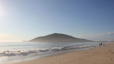Stunning south end of Bennetts Beach