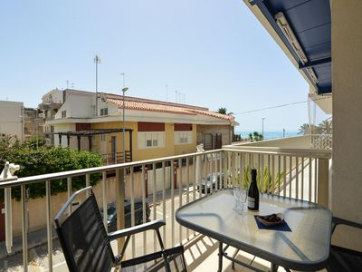 Photo for Salgari Ponente - Sea View Apartment