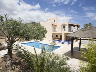 Photo for Villa Tom is a lovely modern villa located near to Playa Den Bossa and Ibiza Town