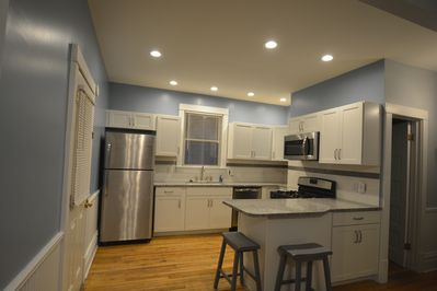 Completely renovated kitchen for all your home meal prep needs