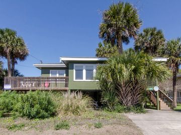 Summer rental on Edisto Beach, Edisto Island, South Carolina, Vereinigte Staaten
