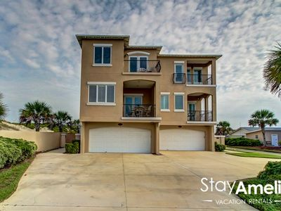 Photo for Ocean View 3BR / 3.5 B Townhouse nestled in the sand dunes.