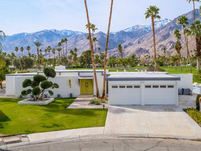 Photo for MID CENTURY MODERN HOME WITH BREATHTAKING MOUNTAIN AND GOLF COURSE VIEWS