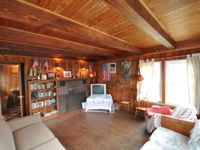 Photo for Ocean Side In Ship Bottom, New Jersey => Tenth Cottage From The White Sand Beach