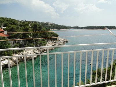 Photo for Holiday apartment with balconies and sea views