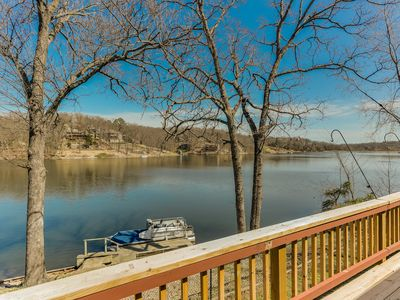 Photo for RIGHT ON THE WATER! Newly renovated Lake Front Home w/ Boat Dock
