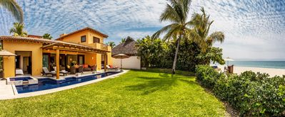 Photo for Beautiful Beachfront home with pool